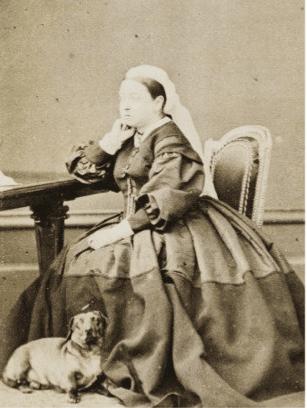 Historia del Perro Salchicha y la reina victoria img